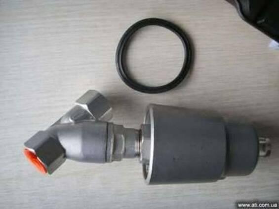 Клапан пневматический запорный