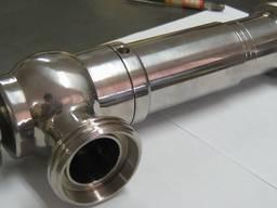 Клапан предохранительный пищевой нержавеющий Ду 50 мм