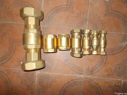 Клапан пружинный латунный Ду15-Ду50