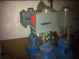 Клапан регулируемый Klimact ГДР тип 52432.4344/0 220 Вольт, ход штока 50 мм