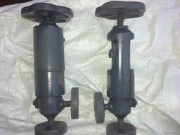 Клапан вентиль запорный угловой 22лс69нж Ду6 Ру320