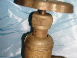 Клапан запорный штуцерный проходной сальник. 521-01. 471-03
