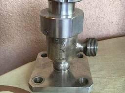 Клапан запорный сильфонный угловой DN 6 Pp 7. 6 чертеж СК. ..