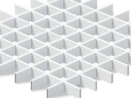 Подвесной потолок грильято Крафт ячейка 60х60 мм