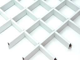 Подвесной потолок грильято Крафт ячейка 200x200 мм