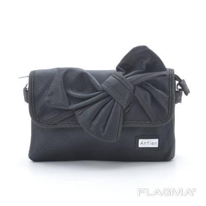 Клатч сумка 80004 black. Экокожа