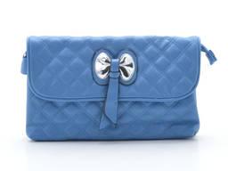 Клатч сумка 80007 blue. Экокожа