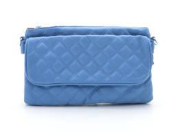 Клатч сумка 80011 blue. Экокожа
