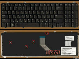 Клавиатура HP Pavilion DV6-1000 DV6-1100 DV6-2000 новая - фото 1