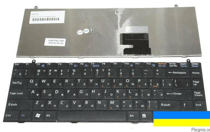 Клавиатура Sony VAIO VGN-FZ31ER VGN-FZ31MR новая