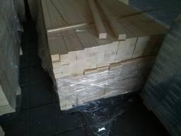 Клеєний конструкційний брус 48х78х4000