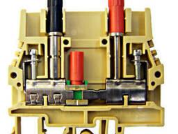 Клеммы для тестовых и измерительных цепей (на din-рейку)