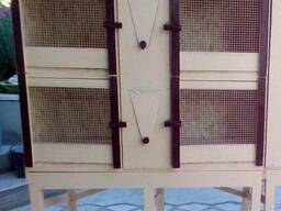 Клетка для кроликов на 4 секции