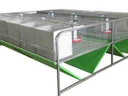 Клетка для кроля промышленная