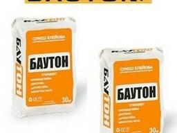 Клей Bauton для газобетона 25кг/мешок