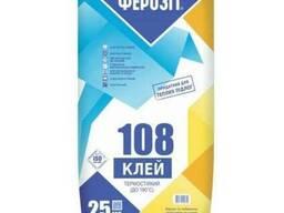 Клей для камінів Ферозіт 108/ 25 кг