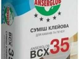 """Клей для каминов и печей """"BCX-35"""" """"Anserglob"""" 25 кг"""