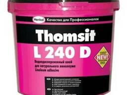 Клей для натур. линолиумаThomsit L240D 14кг (Венгрия)