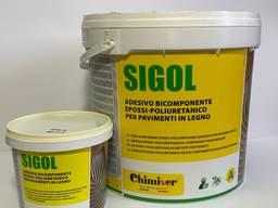 Клей для паркета Chimiver Sigol R. E. 9 1 кг