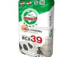 Клей для пенопласта смесь Anserglob ВСХ-39 25кг