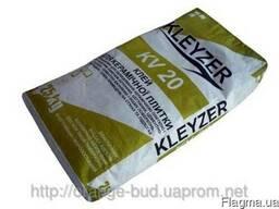Клей для плитки базовый Клейзер KV-20 - 25кг