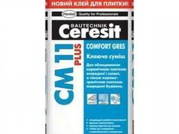 Клей для плитки Ceresit Сm11ЗPlus 25 кг