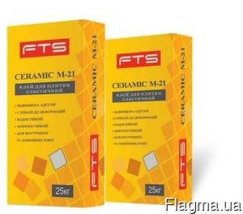 Клей для плитки еластичний Ceramic M-21