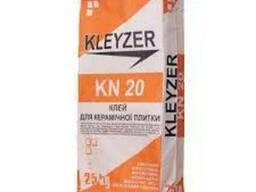 Клей для плитки Kleyzer KN-20 эластичный -25кг