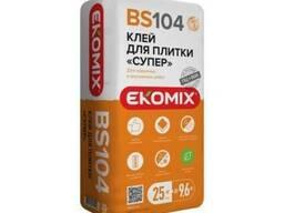 Клей для плитки супер BS 104 Ekomix