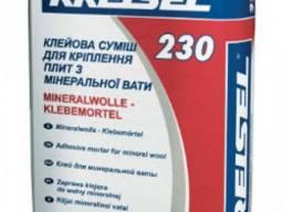 Клей для приклеивания минваты Kreisel 230, 25 кг