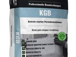 Клей KLEYZER KGB для газоблока, 25 кг