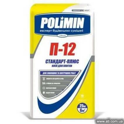 Клей для плитки П-12