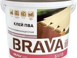 Клей ПВА BRAVA (дисперсия ПВА ДФ 51/15В)