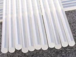 Клей силікон для термопістолети прозорий (7, 1 мм) 19см 0, 5 кг (70шт)
