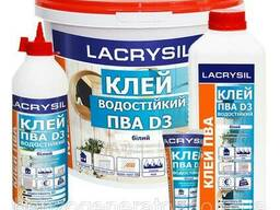 Клей водостойкий Lacrysil ПВА D3 150 гр