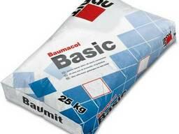 Клеящая смесь для керамической плитки Baumit Basic 25кг