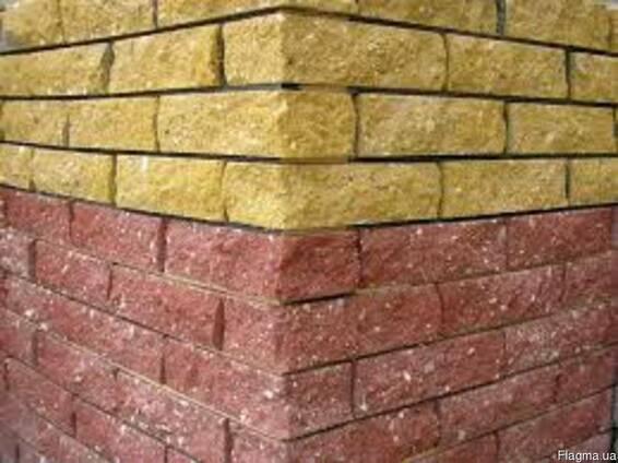 Клинкерный кирпич, клинкер, для заборов, стен, фасадов.