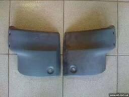 Клык заднего бампера Газель (цельнометаллический кузов)
