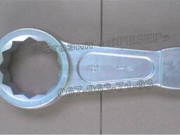 Ключ гаечный кольцевой односторонний ударный КГКУ 95 мм
