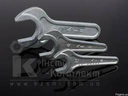 Ключ гаечный рожковый с открытым зевом односторонний КГО х41