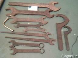 Ключи рожковые, шлицевые , ковиковые(производства ссср)