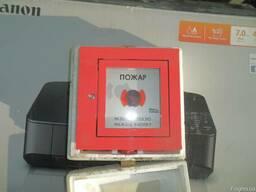 Кнопка пожарного извещателя