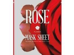 Kocostar Лифтинг маска-слайс для лица Роза/ Flower MASK Sheet ROSE 2 листа по 6шт.