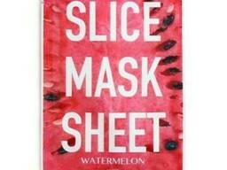 Kocostar Маска-слайс для лица Арбуз/ Slice MASK Sheet (Watermelon) 2 листа по 6шт.
