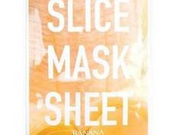 Kocostar Маска-слайс для лица Банан/ Slice MASK Sheet (Banana) 2 листа по 6шт.