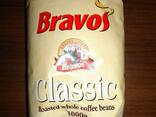 """Кофе """"Bravos"""" в зернах, 100% робуста, 1 кг. - фото 1"""