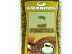 Кофе Грандос Престиж растворимый 100 г в стеклянной банке