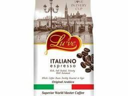 Кофе натуральный жареный в зернах Lu've Italiano Espresso