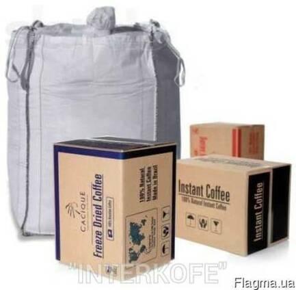 Кофе сублимированный растворимый Cacique ( Касик ) Бразилия
