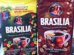 Кофе молотый Brasilia natural/mescla. 250г. Испания.
